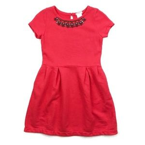 Crewcuts | Fit Flare Dress Cotton Embellished 10